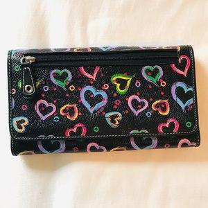 XOXO Black Neon Wallet